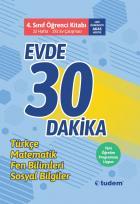 Tudem 4. Sınıf Evde 30 Dakika Öğrenci Kitabı