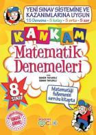 Akademi Çocuk 8. Sınıf Kankam Matematik Denemeleri