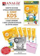 Analiz Yayınları 2.Sınıf KDS Paket Deneme (6 Adet) 2019
