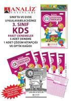 Analiz Yayınları 3.Sınıf KDS Paket Deneme (6 Adet) 2019