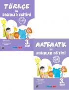 3.Sınıf Türkçe ile Değerler Eğitimi + Matematik ile Değerler Eğitimi