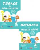 4.Sınıf Türkçe ile Değerler Eğitimi + Matematik ile Değerler Eğitimi