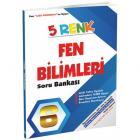 5 Renk Fen Bilimleri Soru Bankası 6. Sınıf