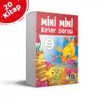 Tandem Mini Mini Birler Serisi-Dik Temel Harflerle 20 Kitap