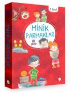 Minik Parmaklar Serisi (Düz Yazı) 1. Sınıf - 10 Kitap