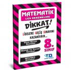 Tandem Matematik LGS Deneme 8. Sınıf
