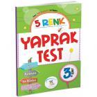 5 Renk Yaprak Test 3. Sınıf