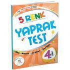 5 Renk Yaprak Test 4. Sınıf