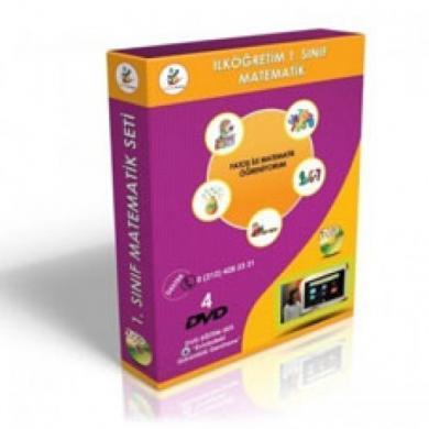 İlköğretim 1. Sınıf Matematik DVD Seti