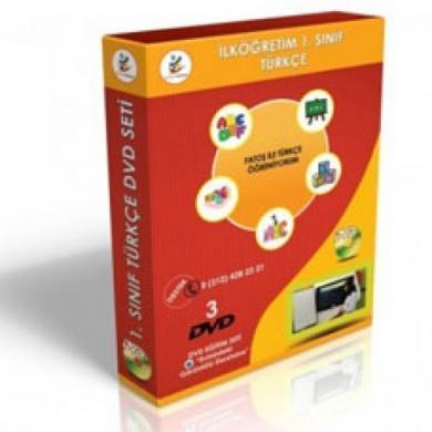 İlköğretim 1. Sınıf Türkçe DVD Seti