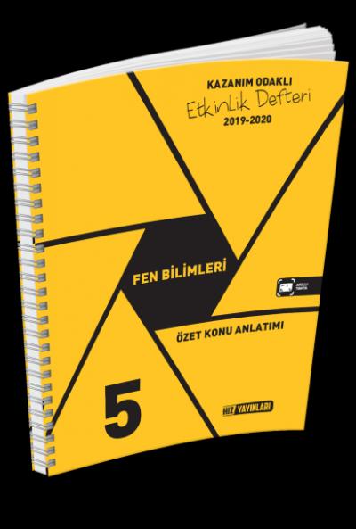 HIZ 5. SINIF FEN BİLİMLERİ ETKİNLİK DEFTERİ