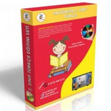 İlköğretim 3. Sınıf Türkçe Görüntülü Eğitim Seti