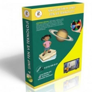 İlköğretim 4. Sınıf Fen ve Teknoloji Görüntülü Eğitim Seti