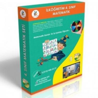 İlköğretim 4. Sınıf Matematik Görüntülü Eğitim Seti