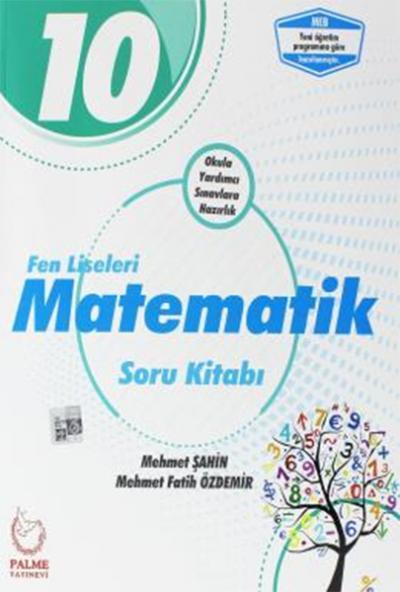 Palme 10.Sınıf Fen Liseleri Matematik Soru Kitabı Yeni