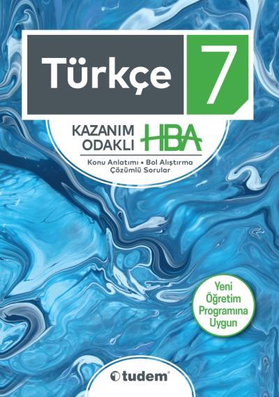 Tudem 7. Sınıf Türkçe Kazanım Odaklı HBA