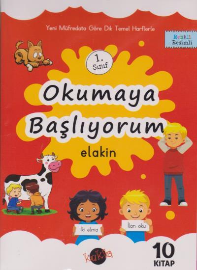 Kukla 1. Sınıf Okumaya Başlıyorum Elakin 10 Kitap