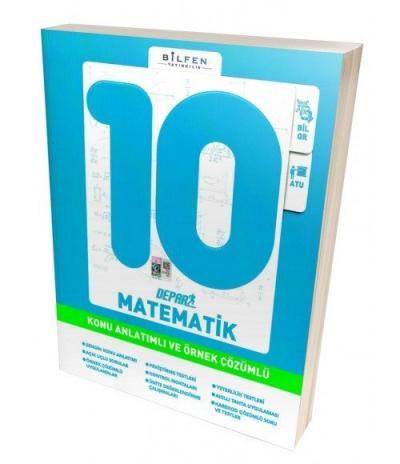 Bilfen 10. Sınıf Matematik Depar Konu Anlatımlı ve Örnek Çözümlü