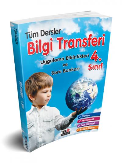Tekiz  4.Sınıf Tüm Dersler Bilgi Transferi