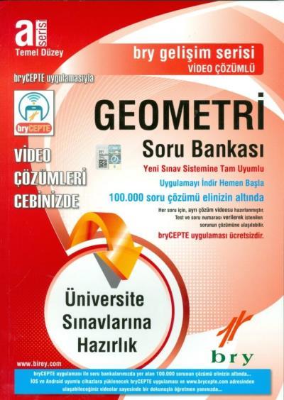 Birey A Serisi Temel Düzey Geometri Soru Bankası %32 indirimli Birey E