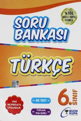 Bizim Kupa 6.Sınıf Türkçe Soru Bankası