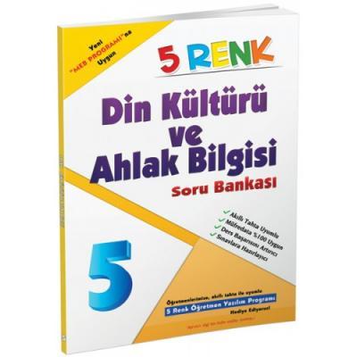 5 Renk Din Kültürü ve Ahlak Bilgisi Soru Bankası 5. Sınıf