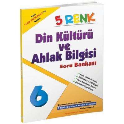 5 Renk Din Kültürü ve Ahlak Bilgisi Soru Bankası 6. Sınıf