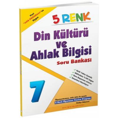 5 Renk Din Kültürü ve Ahlak Bilgisi Soru Bankası 7. Sınıf