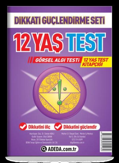 Dikkati Güçlendirme Seti 12 Yaş Yaprak Test