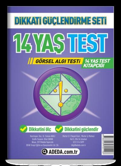 Dikkati Güçlendirme Seti 14 Yaş Yaprak Test