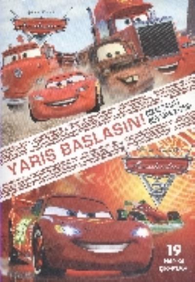 Disney Arabalar Yarış Başlasın çıkartmalı Boyama Kitabı 25 Indirimli
