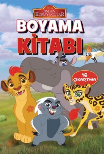 Disney Aslan Koruyucular Boyama Kitabi 16 Cikartma Kolektif