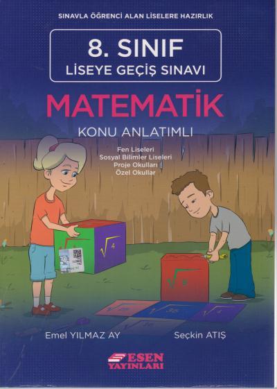 Esen 8. Sınıf LGS Matematik Konu Anlatımlı %30 indirimli Emel Yılmaz A