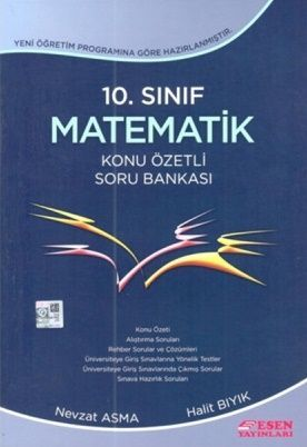 Esen 10.Sınıf Matematik Konu Özetli Soru Bankası