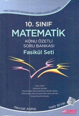 Esen 10.Sınıf Matematik Konu Özetli Soru Bankası Fasikül Seti