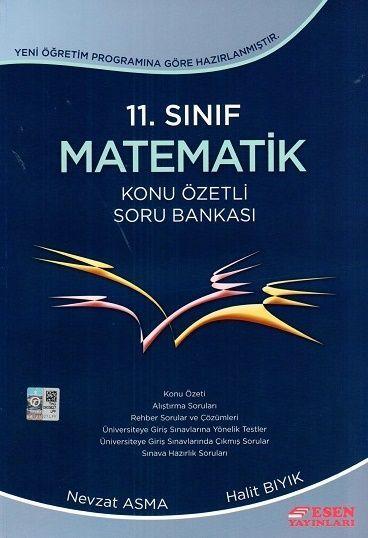 Esen 11.Sınıf İleri Düzey Matematik Konu Özetli Soru Bankası Nevzat As
