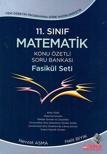 Esen 11. Sınıf Matematik Konu Özetli Soru Bankası Fasikül Seti