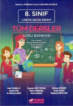 Esen 8. Sınıf LGS Tüm Dersler Soru Bankası