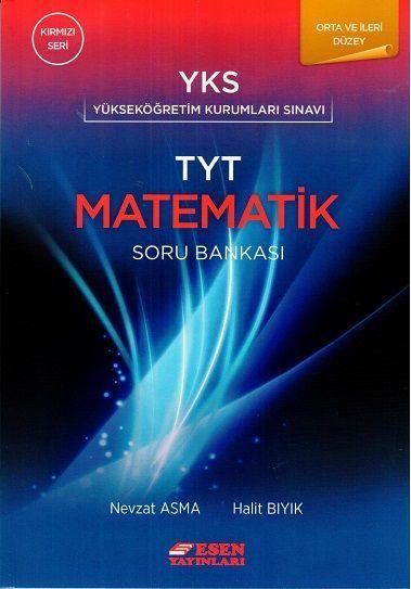 Esen TYT Orta ve İleri Düzey Matematik Soru Bankası Kırmızı Seri