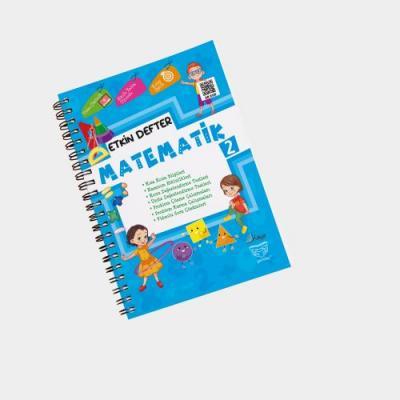 Gendaş Kaya Yayınları 2. Sınıf Matematik Etkin Defter
