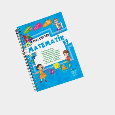 Gendaş Kaya Yayınları 3. Sınıf Matematik Etkin Defter