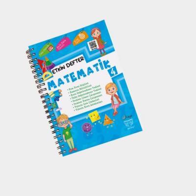 Gendaş Kaya Yayınları 4. Sınıf Matematik Etkin Defter