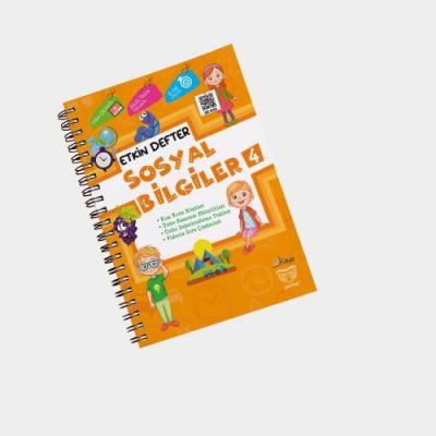 Gendaş Kaya Yayınları 4. Sınıf Sosyal Bilgiler Etkin Defter