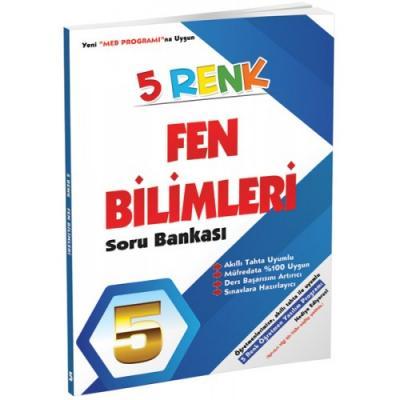 5 Renk Fen Bilimleri Soru Bankası 5. Sınıf