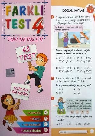 Farklı Test 4.Sınıf