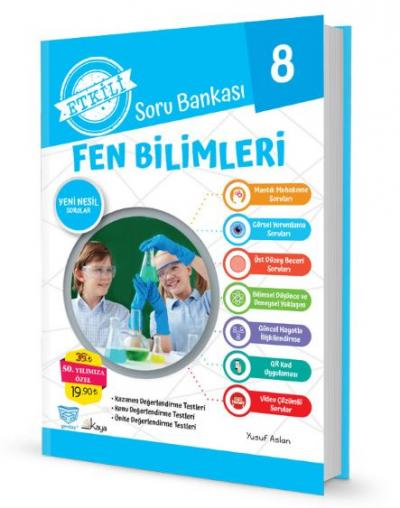 Gendaş Etkili Soru Bankası 8.Sınıf Fen Bilimleri (2019 Yeni Müfredat )