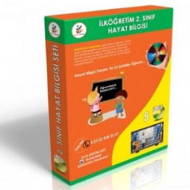 İlköğretim 2. Sınıf Hayat Bilgisi DVD Seti