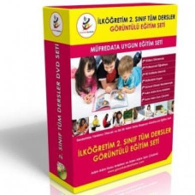 İlköğretim 2. Sınıf Tüm Dersler Görüntülü Eğitim Seti