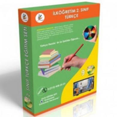 İlköğretim 2. Sınıf Türkçe DVD Seti