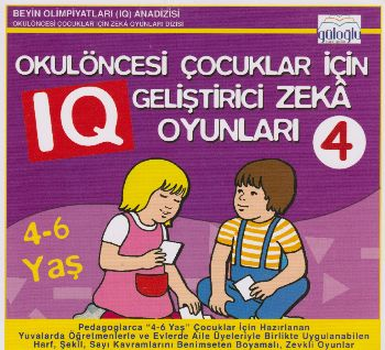Güloğlu Okulöncesi Çocuklar İçin Geliştirici Zeka Oyunları 4 4-6 Yaş